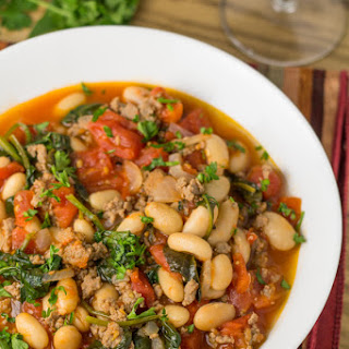 Easy Italian Bean Stew.