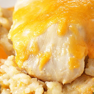 1. Cheesy Chicken and Rice Casserole