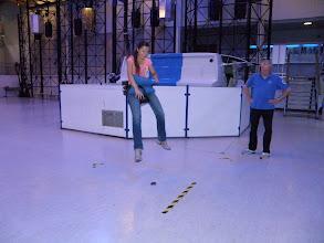 Photo: 2. den - Dopoledne jsme začali simulací chůze po Měsíci (Euro Space Center, Transinne, Belgie)