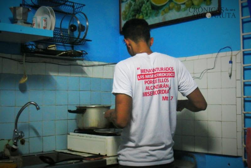 Casa familiar en Cuba