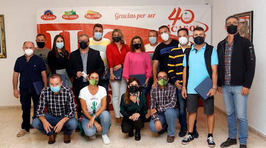 Vicasol premia a 30 agricultores en el marco de Fruit Attraction LIVEConnect
