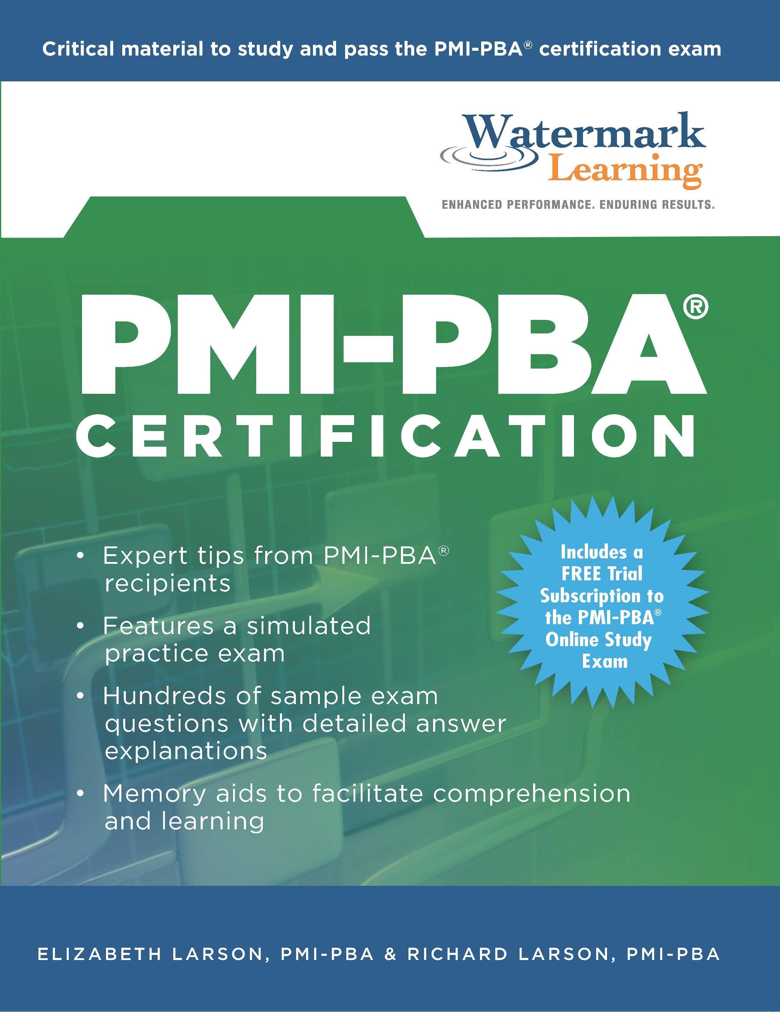 Pmi Pba Study Guide
