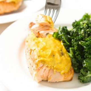 Orange Mustard Salmon (4 ingredients)