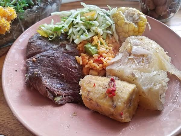 Baho (nicaraguan Beef, Plantains And Yuca Steamed Recipe
