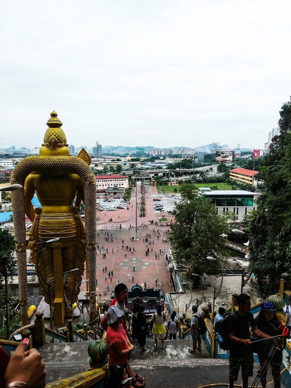 batu caves photo from top