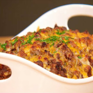 David Venable's Cheesy Cheeseburger Casserole