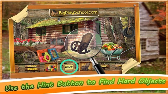 New Hidden Object Game Free New Cabin in the Woods- screenshot thumbnail