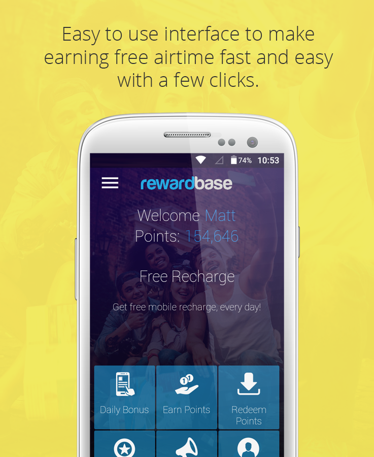 rewardbase free mobile credit- screenshot