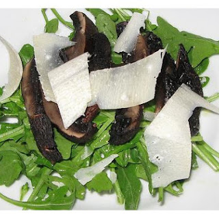 Grilled Portobello Salad With Shaved Parmigiano-Reggiano