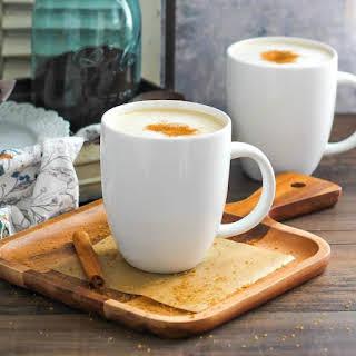 Homemade Cinnamon Dolce Latte.