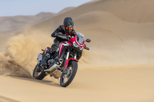 This Honda's even better equipped to take on Africa