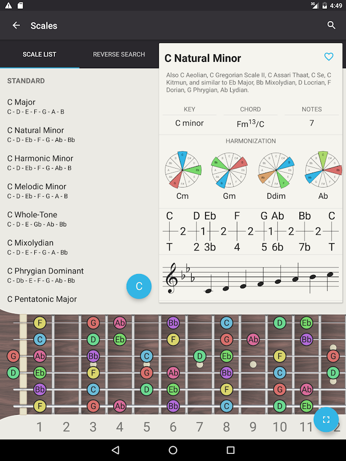Chord! Free (Guitar Chords)- screenshot