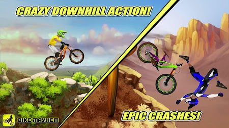 Bike Mayhem Free APK screenshot thumbnail 1