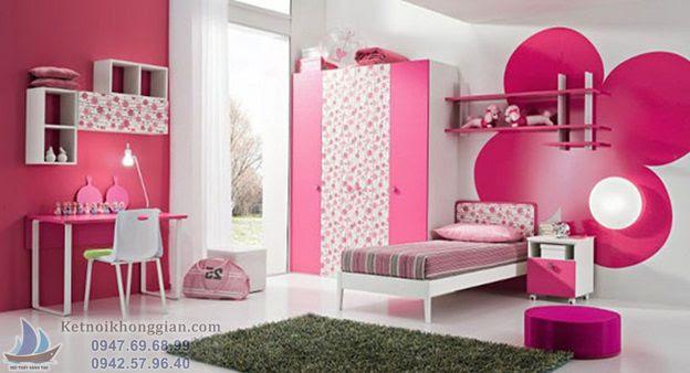 thiết kế phòng ngủ cho bé ngủ ngoan
