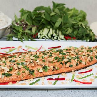 Asian-Style Baked Salmon (Cá Hồi Nướng)