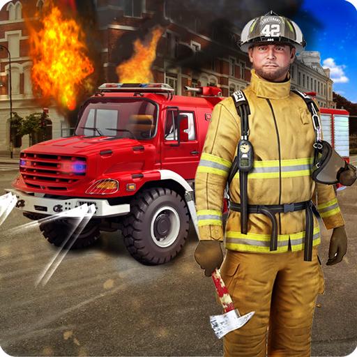 模擬App|現代の消防士:市消防 LOGO-3C達人阿輝的APP