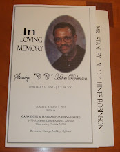 Photo: The funeral program was wonderfully done!