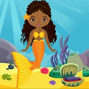 Game Cute Mermaid Girl Rescue Kavi Escape Game-321 APK for Kindle