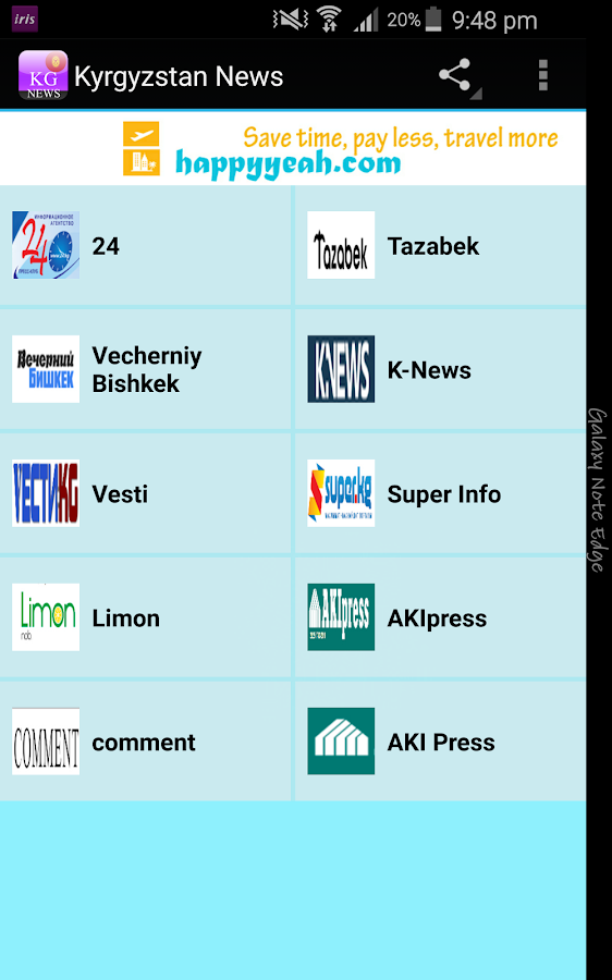Kyrgyzstan News- screenshot