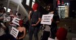 巴丟草展覽被打壓 Pussy Riot 快閃中環抗議