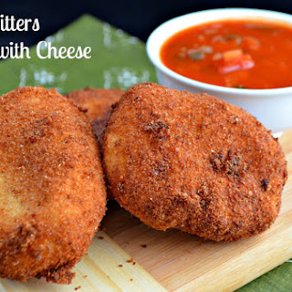 Yuca Fritters Stuffed with Cheese #SundaySupper.