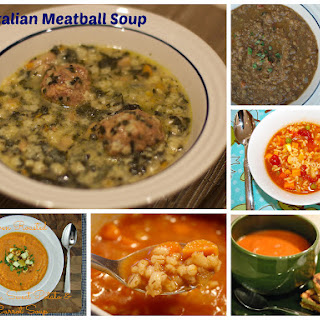Easy Italian Meatball Soup and other Souper Meal Ideas.