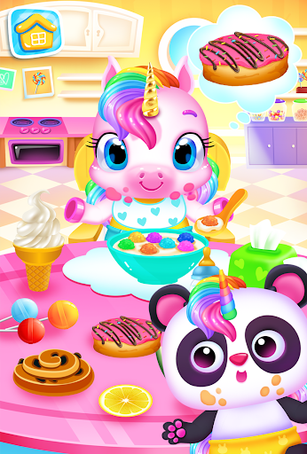 My Baby Unicorn - Magical Unicorn Pet Care Games Apk 1