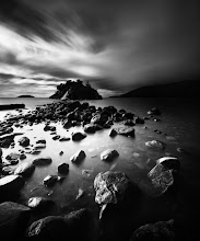 """Photo: """"Whytecliff Park 1"""" - http://www.createwithlightphotography.com  This is a 78 second exposure of Whytecliff Island, taken at Whytecliff Park, in Vancouver in December 2012. This was the first time in 3 months that I had picked up the camera and it felt soooo good to be out. Being a new parent means that my priorities have changed, but I wouldn't have it any other way :-) Every time I get out to shoot feels like a gift, which is the way it should be!!  I used a 10 stop ND filter, plus a 3 stop hard graduated ND filter to achieve the smoky sky and milky water. The midday sun was low in the sky and provided the perfect side-lighting source for a more dramatic effect.  Vancouver is such a special place and is so awesome for long exposure seascapes. The clouds and light were perfect that day, which made my soul smile :-)  One day I will have +Nathan Wirth , +Lydia L and +Brian Day standing on these rocks to reenact our Marshall Beach team selfie...a boy can dream :-)  The techie stuff:  Sony A850 D-SLR Zeiss 16-35mm Lens ISO: 100 Aperture: f/11 Exposure: 78 seconds Focal Length: 16mm Filters: Hitech Pro 10 stop ND filter, Lee 3 stop hard grad ND filter  This is my contribution to the #bwlandscapewednesday theme, curated by +Francesco Gallarotti , the #windywednesday theme, curated by +Trevor Farrell , +Tricia McDonald Ward and +WindyWednesday , the #waterscapeartwednesday theme, curated by +Terrill Welch , +Dane Clingan , +Trisha Standard and +Waterscape Art Wednesday , the #winterwednesday theme, curated by +Antoine Berger and +Logan Miller, the #weatherwednesday theme, curated by +Jason Borgand +Weather Wednesday, the #LongExposureThursday theme, kindly curated by +Francesco Golaand +Le Quoc , the #ThirstyThursday theme, kindly curated by +Giuseppe Basileand +Mark Esguerra, the #FineArtPls theme, curated by the lovely +Marina Chenand +Fineao Fang ,the #landscapephotography theme run by +Bill Wood, the #BWFineArtLE theme, curated by the amazing Mr +Joel Tjintjela"""