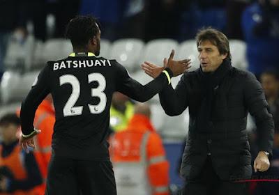 Conte souligne les progrès de Batshuayi