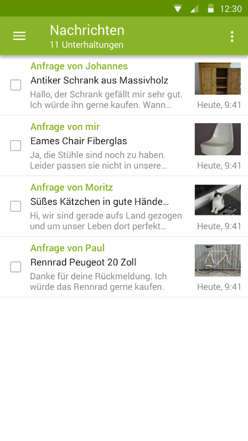 eBay Kleinanzeigen for Germany- screenshot