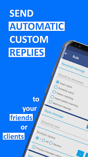 AutoResponder for FB Messenger - Auto Reply Bot for PC-Windows 7,8,10 and Mac apk screenshot 1