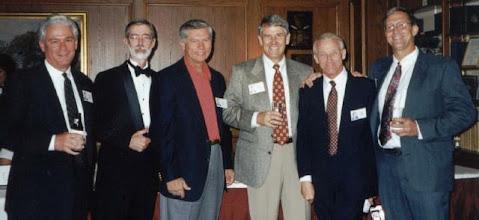 Photo: Marvin Mitchell, Ernest Godsey, Tom Johnson, Marvin Fletcher, Bob Nida, Rocky Williams