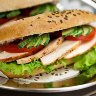 Classic Turkey Sandwich.