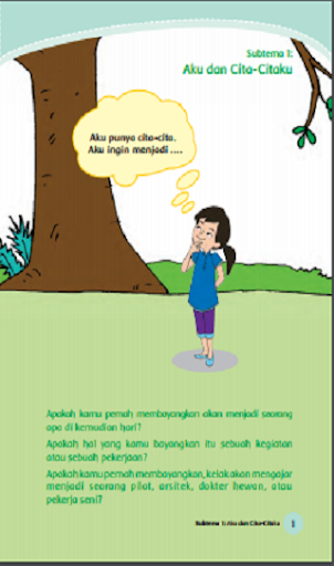 Buku Kelas 4 Tema 6 Kurikulum 2013 for PC