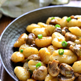 10-Minute Mushroom Marsala Gnocchi