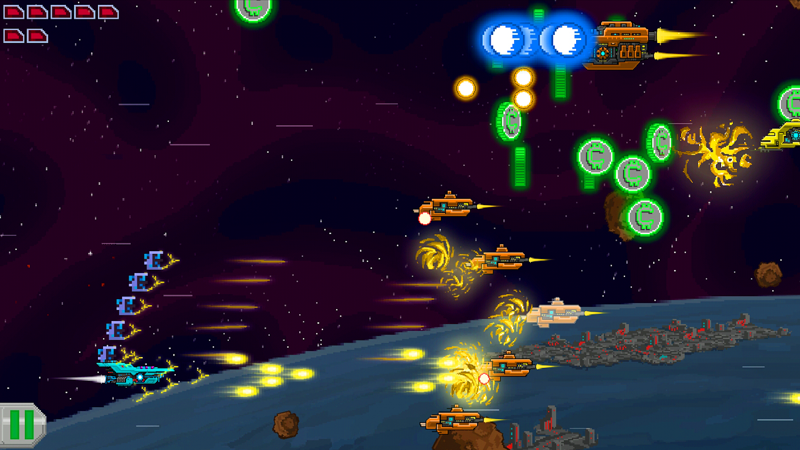 galaxy Shooter offline game for android phone