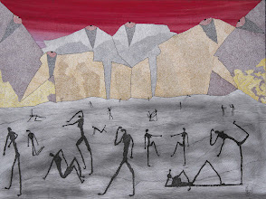 """Photo: Lost In a Lost World30"""" x 40""""2005 - 2007Pen & Ink on paper"""