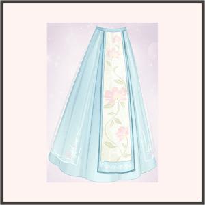 蓮花-スカート