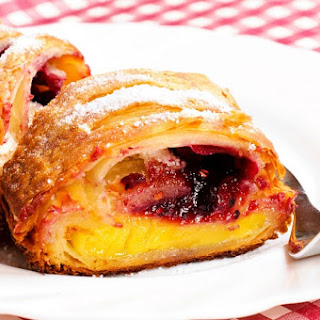 Mixed Berry Strudel