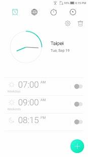 ASUS Digital Clock & Widget - náhled