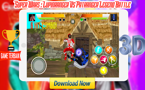 Super Wars : Lupin Vs Patra Legend Battle Apk Latest Version Download For Android 6