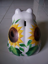 Photo: 1003 -1 Frog bank Hand Painted $25.00