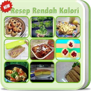 Resep Rendah Kalori Lengkap - náhled