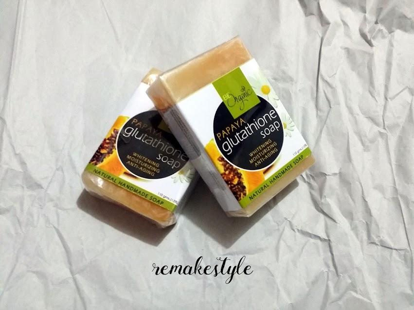 Papaya Glutathione Soap by Be Organic Bath & Body