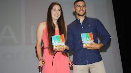 Lorena González (fútbol), y José Manuel Morales (judo).