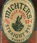 Michters US*1 Kentucky Straight Rye