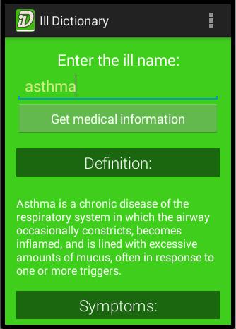Ill Dictionary