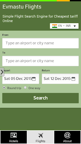 android Prague Hotels and Flights Screenshot 4