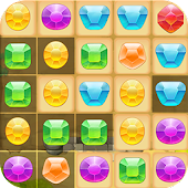 Magic Jewel Match Puzzle Game Star Pop Deluxe Maya