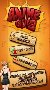 Online Anime Quiz & Test screenshot 0